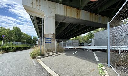 南港東駐車場入口