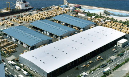 大阪南港製材品センター